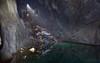 Mutli storey (Kriegaffe 9) Tags: light sunlight cars abandoned water rust decay cave scrap