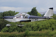 G-CCMO (QSY on-route) Tags: city family manchester fun fly flying airport day open display airshow event barton 2014 in egcb gccmo 13072014