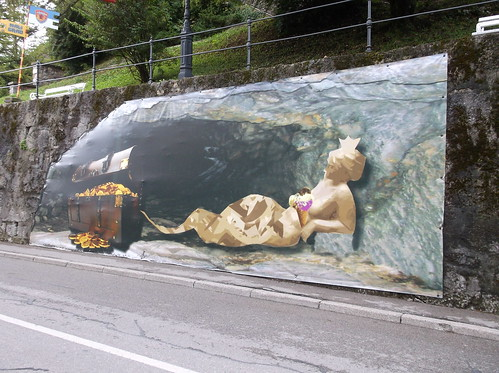 Road-side artwork in Kamnik