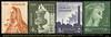 1960. Freimarken: Nationale Symbole. Marken mit Inschrift PALESTINE, auch in Arabisch.