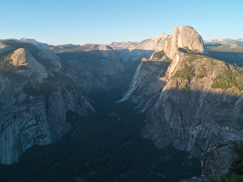 Sunset Glacier Point