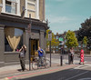 scenario 2014 (chrisdb1) Tags: street london art public shop composite architecture nikon cityscape cyclist traffic surrealism archive streetlife social mobilephone pedestrians hackney trafficjam joiner turkish dalston e8 n16 eastend dystopia londonist chrisdorleybrown repairsandalterations