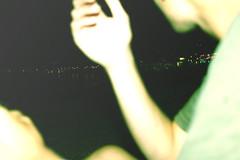mooneylights. (Naud/) Tags: ocean friends summer sky moon love feet beach night stars lights bay kiss alone friendship fullmoon together photograph midnight hugs canon600d