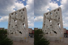 Redemption Marines (Viktor_Bublic) Tags: summer sky stone stereoscopic crosseyed day croatia stereo rovigno rovinj adriatic istria hrvatska stereoscopy istra 2014 kroatien mediterranian xeyes crossview xview xeyed