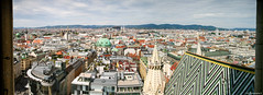 Vienna from Stephans Dom, Austria (CvK Photography) Tags: vienna panorama holiday beautiful canon eos oostenrijk perfect europa widescreen ngc s professional explore pro dslr wenen cvk flickrtravelaward chrisv