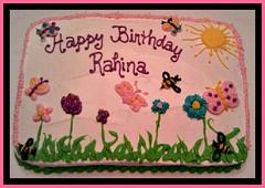 Butterfly cake by Vickie, Triad Area, NC, www.birthdaycakes4free.com