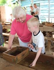 IMG_7341 (drjeeeol) Tags: grandma vacation nc asheville northcarolina mining will conference triplets gem 2014 5yearsold norrthcarolina