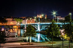 Lione 2014 (auredeso) Tags: france night lione bynight tokina leone francia notte hdr lyion