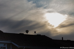 Alton Summer Skyline  2014-21 (derena_d.) Tags: roof light sunset shadow two sky cloud weather clouds sunrise photography skies photographer rooftops hampshire hotairballoon abs canoneos60d derenaakers
