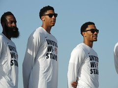 Visita USA baloncesto a Maspalomas 25 agosto 2014