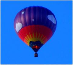 Heiluftballon (Ela2007) Tags: sky hessen himmel heisluftballon hotairballoon bunt hesse farbenfroh badwildungen