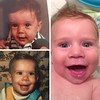 Mommy, Daddy, and Jackson at (around) 5 months. #tbt #kidpost