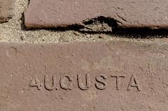 Augusta (DancingTerrapin) Tags: brown detail brick ga georgia downtown bricks augusta riverwalk augustaga augustageorgia