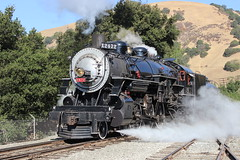 Southern Pacific #2472 (Baldwin 4-6-2) in Brightside, CA (CaliforniaRailfan101 Photography) Tags: pacific steam baldwin farwell southernpacific 462 fairbanksmorse nilescanyon ggrm sunolca goldengaterailroadmuseum nilescanyonca sp2472 sp1487 southernpacific2472 brightsideyard southernpacific1487 labordaysteam