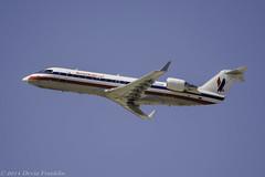 American Eagle CRJ-200 (N435SW) (Devin Franklin Photography) Tags: usa losangeles nikon unitedstates americaneagle dslr unitedairlines infocus highquality crj200 nikondx laxairport d5200