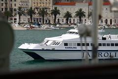 Karolina (dese) Tags: wednesday photo ship foto croatia july23 split karolina adriatic adriaticsea kroatia 2014 kroatien onsdag dese mareadriatico jadranskomore adriatischesmeer desefoto petarhektorovi adriatarhavet