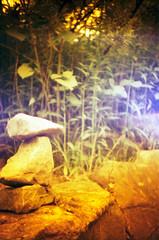 Tippelsberg (somekeepsakes) Tags: red rot film stone analog germany deutschland lca europa europe lightleak analogue bochum stein ruhrgebiet 2010 industriekultur redscale lichteinfall tippelsberg lomographyredscale100
