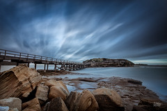 Fortress (Mike Hankey.) Tags: sunrise landscape published laperouse bareisland focus14