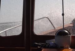 Sea spray (paulandmaryafloat) Tags: voyage sea waves windy spray salty bow rough passage windscreen compass seaspray sontay headwind roughweather windovertide headseas salyspray