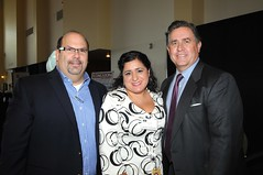 Richard Sandoval, Veronica Diaz and Reuben Franco
