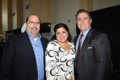 Richard Sandoval, Veronica Diaz and Reuben Franco