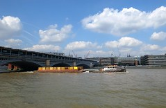 Tug towing barges ( Georgie R) Tags: tug river