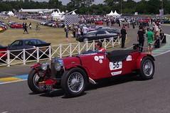 1933 Aston Martin Le Mans (Dave Hamster) Tags: classic car vintage racing lemans motorracing aston 56 astonmartin motorsport racingcar 1933 autosport 2014 lemansclassic historicracing astonmartinlemans bme208
