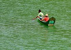 Cabrio (Robyn Hooz) Tags: two river boats barca fiume seats malaysia borneo posti due kinabatangan