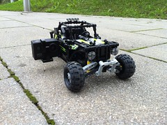 Off-road racer (sm 01) Tags: road lego suspension off technic motor rc motorized rwd powerfunction
