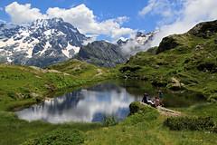 Lac du Lauzon (Hautes-Alpes) (rogermarcel) Tags: mountain lake mountains montagne alpes landscape lac paysage rogermarcel