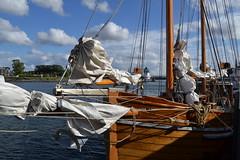 Kappeln an der Schlei (reinhold.arndt) Tags: boot boat harbour balticsea fjord ostsee segelboot kappeln sailingboat schlei kappelnhafen
