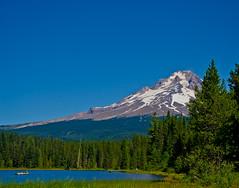 A perfect Day. (Omygodtom) Tags: blue autumn mountain lake mountains tree art nature oregon nikon perfect senery trilliumlake naturelovers d7000 18105lens