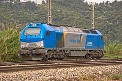 Comsa 335.001  Castellbisbal (eldelinux) Tags: train tren diesel engine railway via creativecommons locomotive va locomotora 335 castellbisbal vossloh comsa euro4000 4000 335001