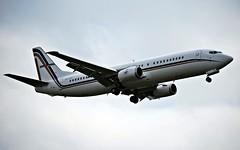 GNj B737 (Riik@mctr) Tags: ex airplane manchester airport outdoor stones aircraft aviation medium msn boeing executive range rolling 737 refurbished egcc 25423 phbtb gainjet sxatf