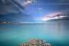 Perspective ... (Yannick Lefevre) Tags: longexposure sunset sea seascape storm france photoshop landscape islands pier nikon cotedazur raw nef cannes tripod paca provence paysage dri manfrotto hoya frenchriviera alpesmaritimes ndfilter nd400 poselongue lacroisette nikoncapturenx d700 ndx400 capturenx2 yllogo nikkor1635mmf4 ©yannicklefevre||photography lerinsisland