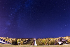 Just Married (Keith Walters Photography) Tags: wedding way stars weddings milky milkyway