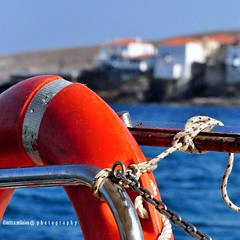 a journey to heaven... (dimitra_milaiou) Tags: life trip travel blue light sunset red sea vacation house color colour detail love smile reflections island boat nikon h