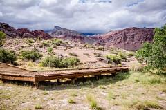 Red Rock Canyon boardwalks