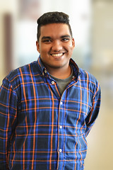Personality (Babeeshan) Tags: boy beautiful smile oslo norway happy blurry nikon friend bokeh handsome buddy highschool srilanka tamil srilankan nydalen d3100