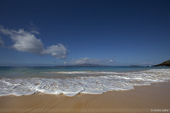 Maui (sathellite) Tags: ocean hawaii sand maui beaches wailea makena makenabeach