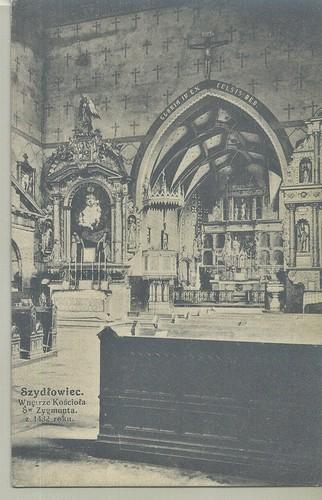 Wnętrze kościoła św. Zygmunta