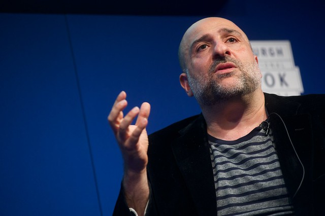 Omid Djalili at The Edinburgh International Book Festival