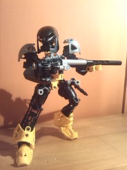 The Goodwill Sniper (8) (EMMSixteenA4) Tags: light self work dark that mirror flickr ranger order good progress 7 wip help will sniper advice bionicle gali critique pls moc lewa tahu nui roark mahri kopaka pohatu lesovikk mfin onua selfmoc lessovikk wreax
