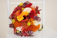 buchet de mireasa issamariage (IssaEvents) Tags: buchet mireasa nunta valcea issamariage issaevents 2018 portocaliu cale trandafiri albi issa decor sala evenimente bujoreni