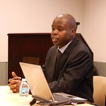 Mr. Francis Ssuubi, Founder and Executive Director of Wells of Hope, Brown Bag 2014