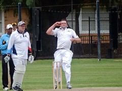 Bowler (mikecogh) Tags: hove cricket game stumps wicket action batsman