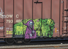 Natas (LL052) Tags: natas boxcar dwc freight train graffiti