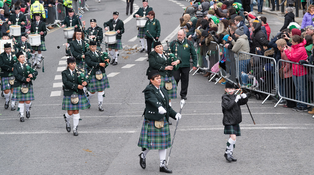 St. Joseph's Pipe Band From Glasdrumma [St. Patricks Day Parade 2017]-125894