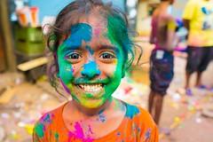Colourful Smile are always special (Rahul Ravindaran) Tags: smile holi chennai chennaiholi children kid kids people ngc cwc chennaiweekendclicker life love
