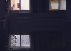 Windows #2 (Ivona & Eli) Tags: house building window night nightshot light raanana israel middle east wall architecture engineering bars